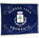 Bandiera per leva in velluto ricamata-0
